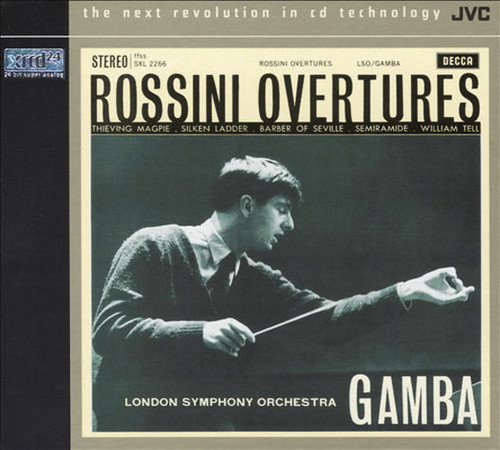 Rossini Overtures XRCD24