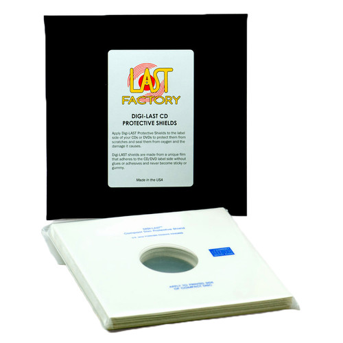 The LAST Factory Digi-LAST CD Protective Shields (Package Of 20)