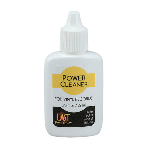 The LAST Factory LAST Power Cleaner For Records (0.75 Fluid Ounces)