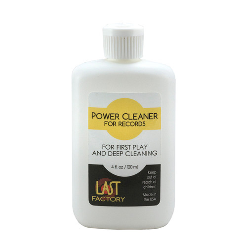 The LAST Factory LAST Power Cleaner For Records (4 Fluid Ounces)