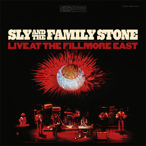Sly & The Family Stone Live At the Fillmore East 2LP