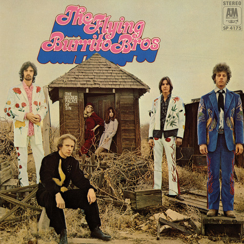 The Flying Burrito Brothers The Gilded Palace of Sin 180g LP