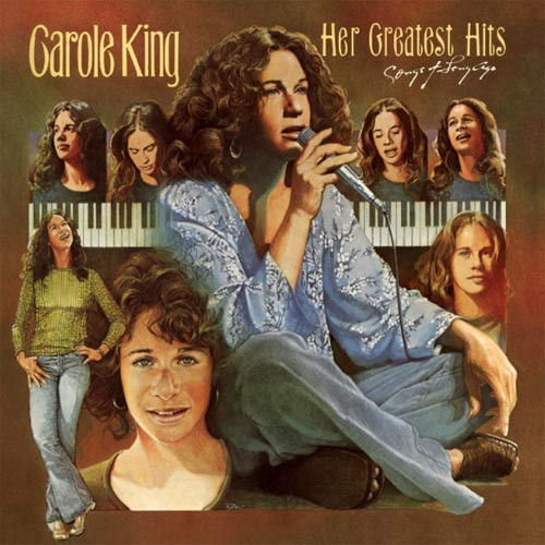 Carole King Her Greatest Hits (Songs of Long Ago) LP