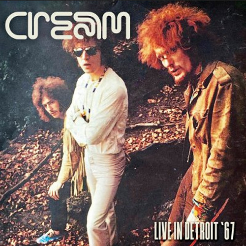 Cream Live In Detroit '67 Hand-Numbered Limited Edition 180g Import 2LP (White Vinyl)