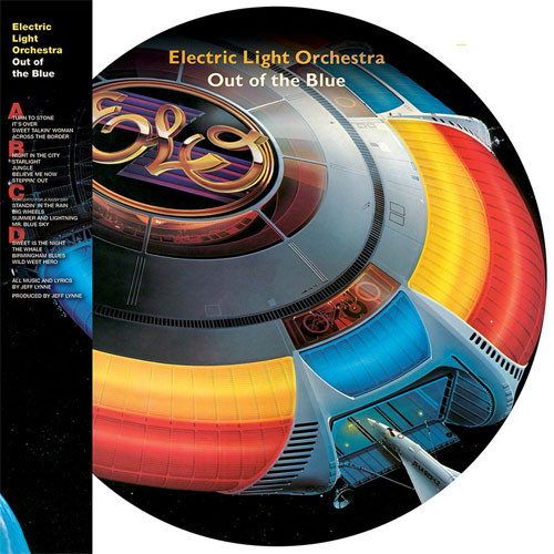 Electric Light Orchestra Out of the Blue 2LP (Picture Disc)