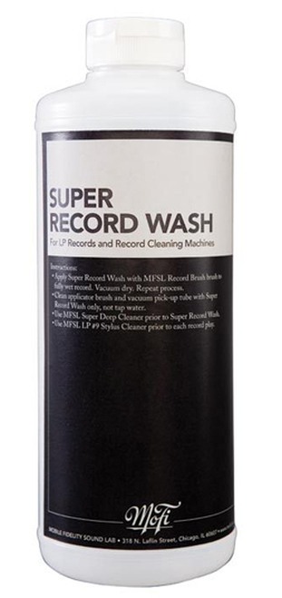 Mobile Fidelity Super Record Wash Record Cleaning Fluid (32 Ounces)