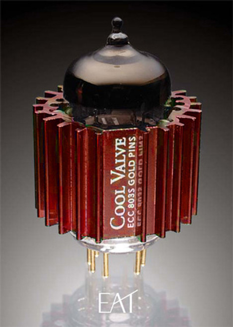 EAT ECC 803S Twin Triode Tubes With Cool Dampers (1 Each)