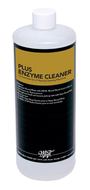 Mobile Fidelity Plus Enzyme Record Cleaning Fluid (32 Ounces)