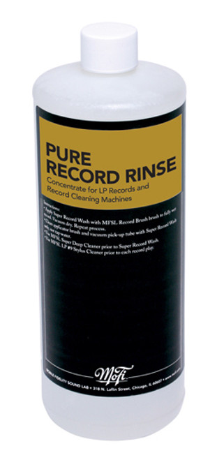 Mobile Fidelity Pure Record Rinse (32 Ounces)
