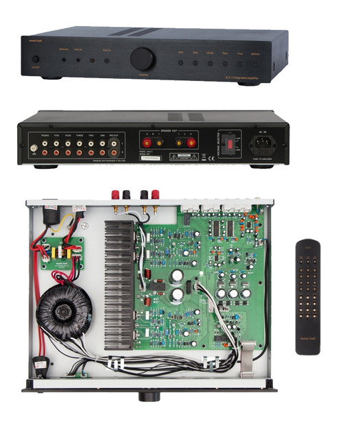Music Hall A15.3 Integrated Amp With MM Phono Stage (Black)