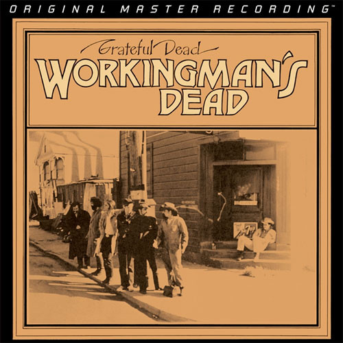 The Grateful Dead Workingman's Dead Numbered Limited Edition 45rpm 180g 2LP