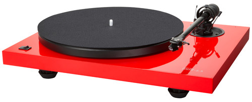 Music Hall MMF-2.3LE Turntable (Red) with Spirit MM Cartridge 3.5mV
