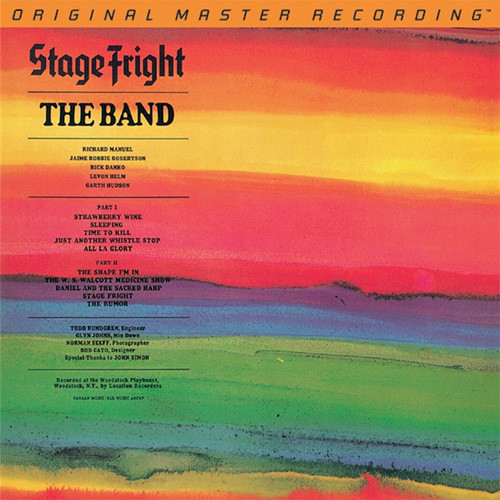 The Band Stage Fright Numbered Limited Edition Hybrid Stereo SACD