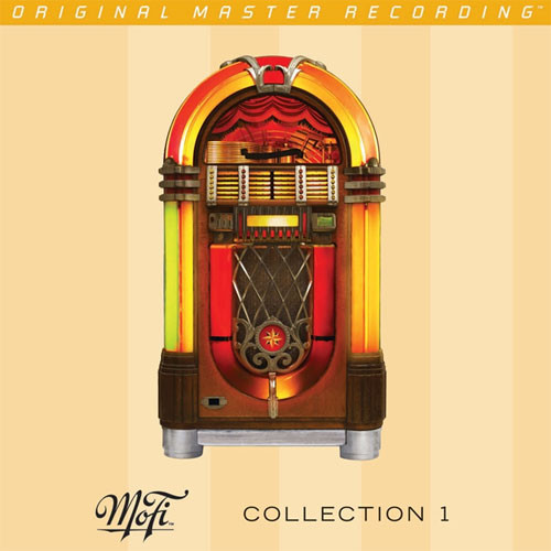 Mobile Fidelity Collection Volume 1 Numbered Limited Edition Gold CD