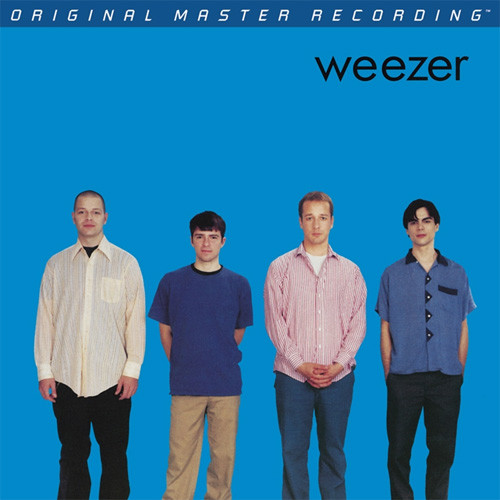 Weezer Weezer (Blue Album) Numbered Limited Edition Hybrid Stereo SACD