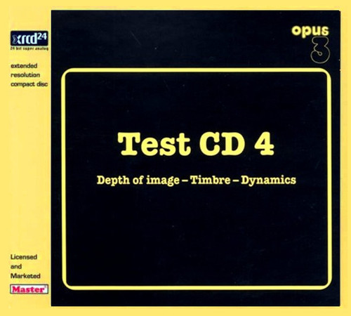 Test CD 4 Depth Of Image Timbre Dynamics XRCD24