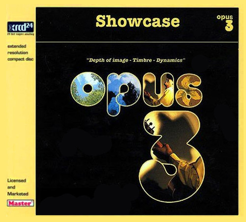 Showcase Opus 3 Depth Of Image - Timbre - Dynamics XRCD24