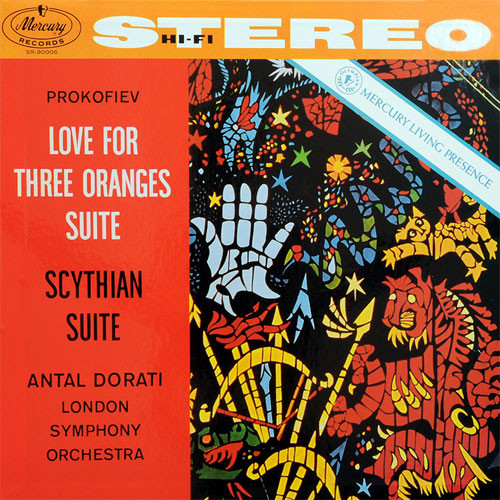 Prokofiev Love For Three Oranges Suite Numbered Limited Edition 180g 45rpm 2LP