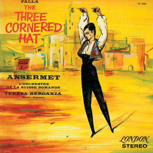 Falla The Three Cornered Hat Low Numbered Limited Edition 180g 45rpm 2LP