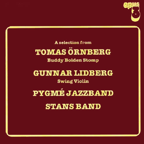 A Selection From Tomas Ornberg, G. Lidberg, Pygme Jazz Band & Stans Band Master Quality Reel To Reel Tape