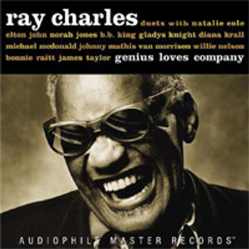 Ray Charles Genius Loves Company Numbered Limited Edition 180g 2LP (Black Vinyl)