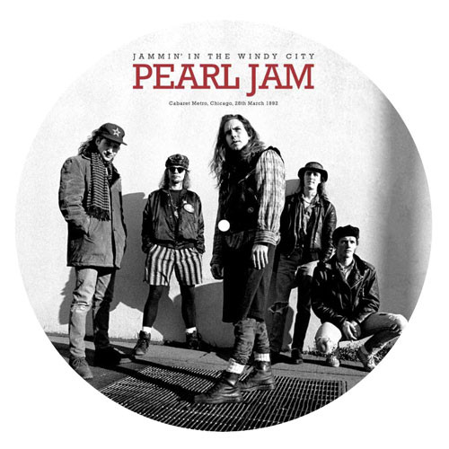 Pearl Jam Jammin In The Windy City 140g LP (Picture Disc)