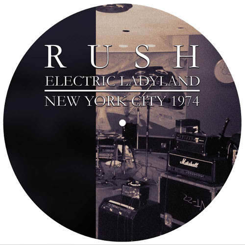Rush Electric Ladyland 1974 LP (Picture Disc)