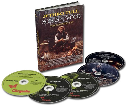 Jethro Tull Songs From the Wood: The Country Set 3CD & 2DVD