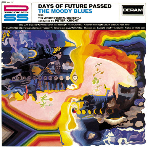 The Moody Blues Days of Future Passed LP