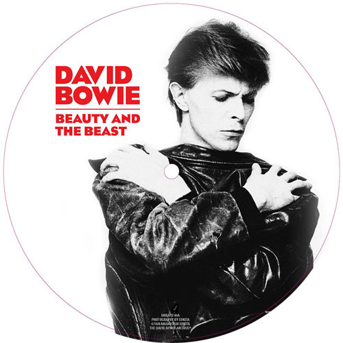 """David Bowie Beauty and The Beast 45rpm 7"""" Vinyl (Picture Disc)"""