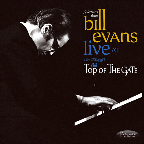"""Bill Evans Live At Art D'Lugoff's Top Of The Gate 10"""" Vinyl"""