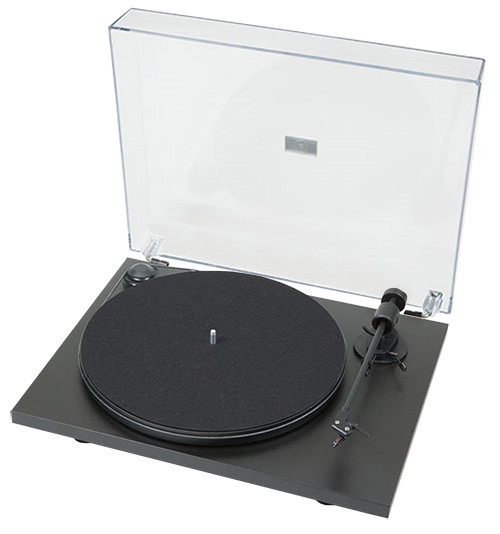 Pro-Ject Primary Turntable with Ortofon OM 5E Cartridge (Matte Black)