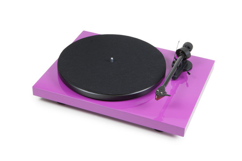 Pro-Ject Debut Carbon DC Turntable with Ortofon 2M Red Cartridge (Gloss Black with Other Colors Available Upon Request)