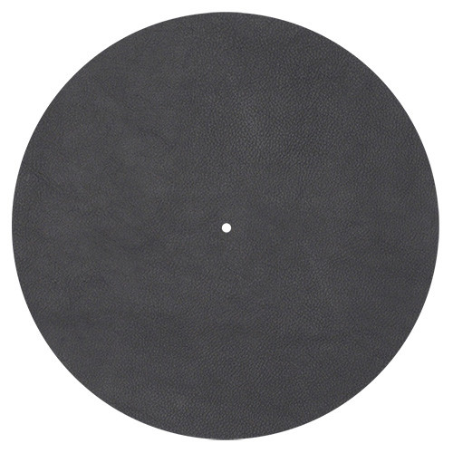 Pro-Ject Leather It Turntable Platter Leather Record Mat (Black)