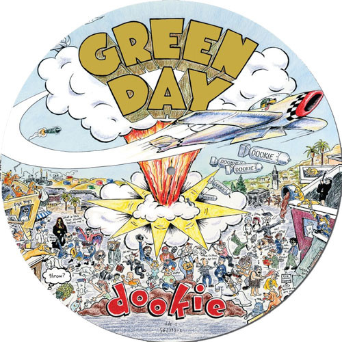 Green Day Dookie LP (Picture Disc)