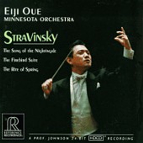 Eiji Oue Stravinsky Song of The Nightingale HDCD