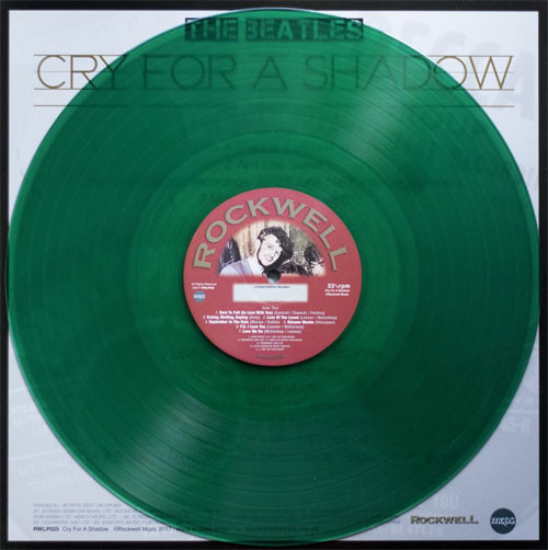 The Beatles Cry For A Shadow Numbered Limited Edition 180g Import LP (Clear Green Vinyl)