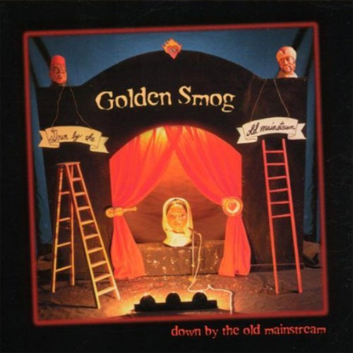Golden Smog Down By the Old Mainstream Numbered Limited Edition 180g 2LP (Yellow With Red & Black Swirl Vinyl)