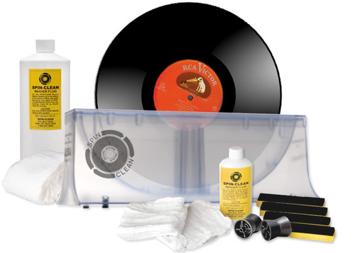 Spin Clean Washer MkII Record Cleaner Value Package (Clear)