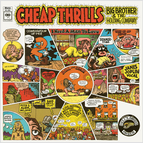 Big Brother And The Holding Company Cheap Thrills 180g (Mono)