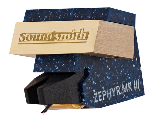 Soundsmith Zephyr MKIII MI Cartridge 2.4mV (Low Compliance) With Trade-In or Turntable Purchase