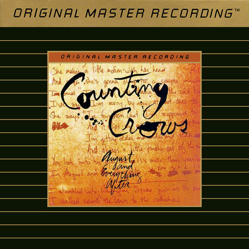 Counting Crows August And Everything After Gold CD