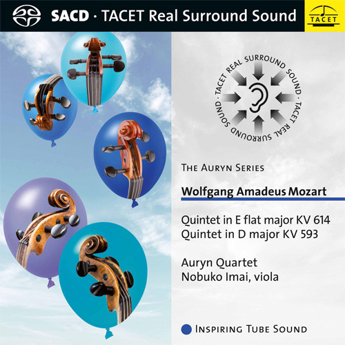 Mozart Quintets in E & D Hybrid Multi-Channel & Stereo SACD