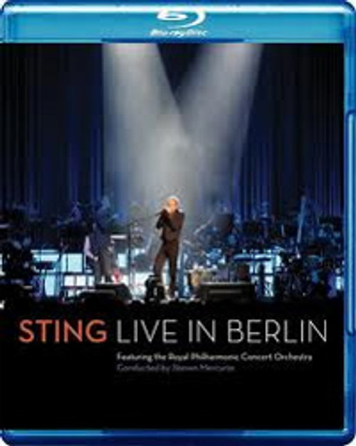 Sting Live In Berlin Blu-Ray Disc