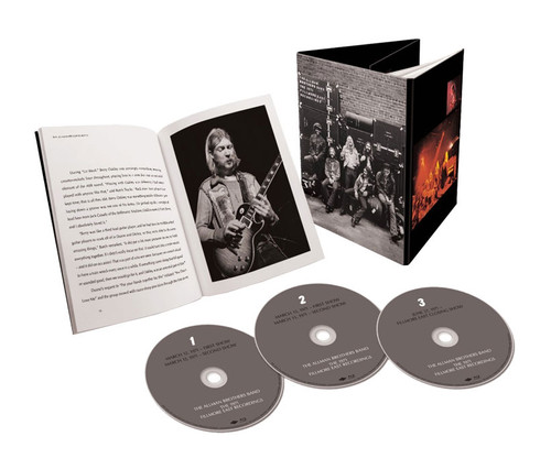 The Allman Brothers Band The 1971 Fillmore East Recordings 3 Blu-Ray Pure Audio Discs