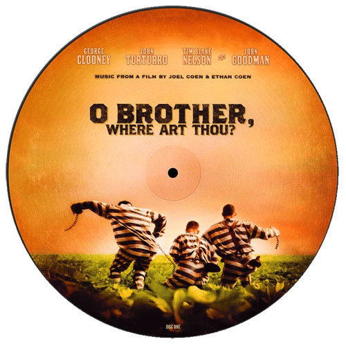 O Brother, Where Are Thou? Soundtrack 180g 2LP (Picture Disc)