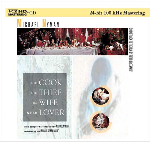 Michael Nyman The Cook, The Thief, The Wife and Her Lover Numbered Limited Edition K2 HD Import CD
