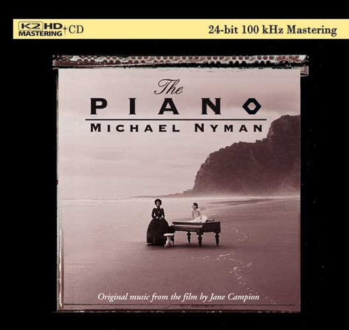 Michael Nyman The Piano: Original Music From the Film by Jane Campion Numbered Limited Edition K2 HD Import CD