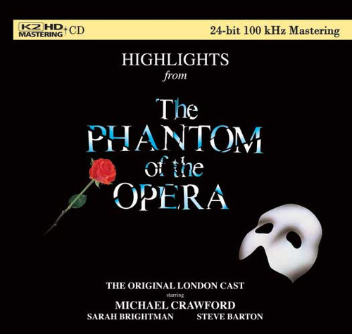 Highlights from The Phantom Of the Opera Numbered Limited Edition K2 HD Import CD