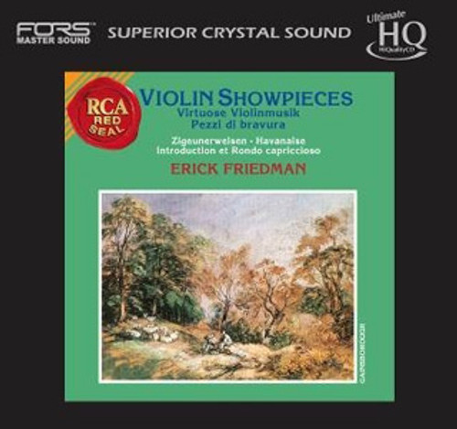 Erick Friedman Violin Showpieces Numbered, Limited Edition  Japanese Import UHQCD